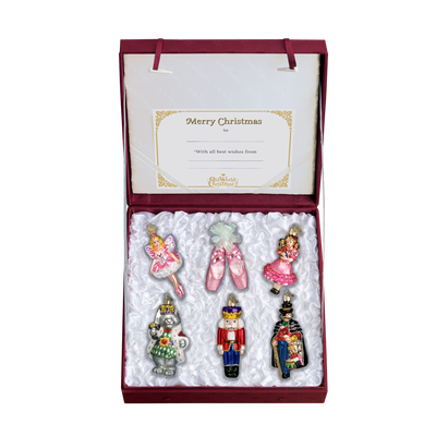 Old World Christmas The Nutcracker Glass Christmas Ornament Set -  Christmas - Old World Christmas - Putti Fine Furnishings Toronto Canada - 2