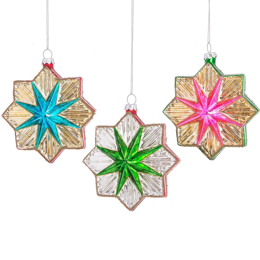 Starburst Glass Ornament