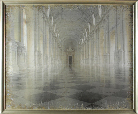 """Galleria Di Diana"" Framed Print-Photographic Print-Cel Arts Studio-Large 32"" x 40""-Putti Fine Furnishings"