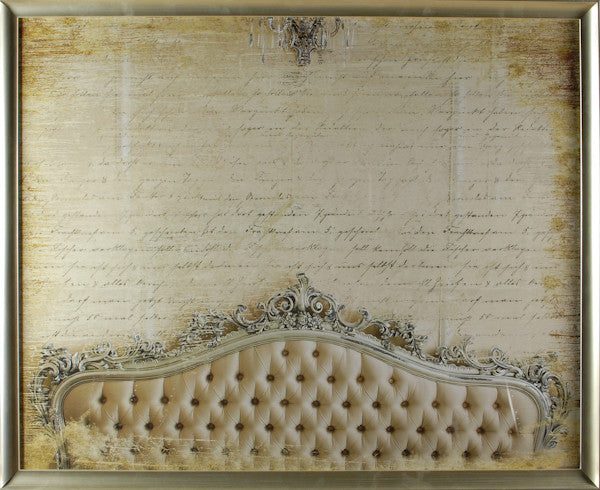 """Gilded Versailles"" Framed Print, Cel Arts Studio, Putti Fine Furnishings"