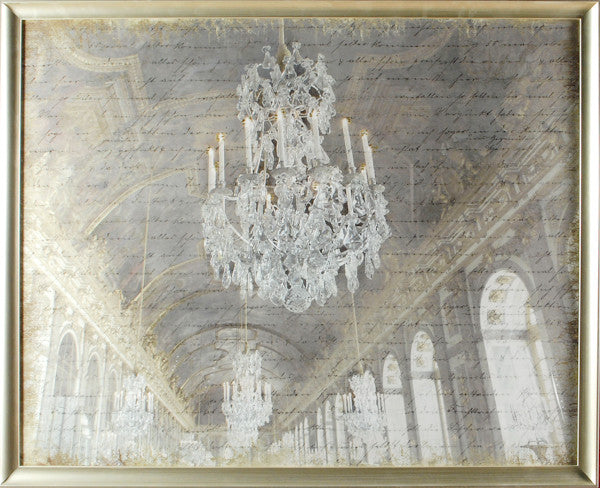"'Hall of Mirrors"" Framed Print"