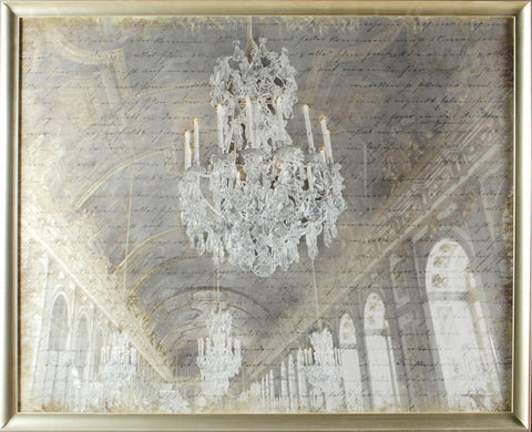 "'Hall of Mirrors"" Framed Print -  Photographic Print - Cel Arts Studio - Putti Fine Furnishings Toronto Canada"