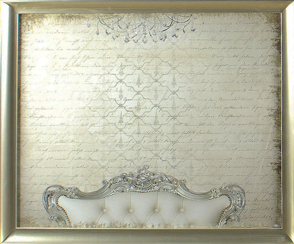 """Scripted Luxury"" Framed Print, Cel Arts Studio, Putti Fine Furnishings"