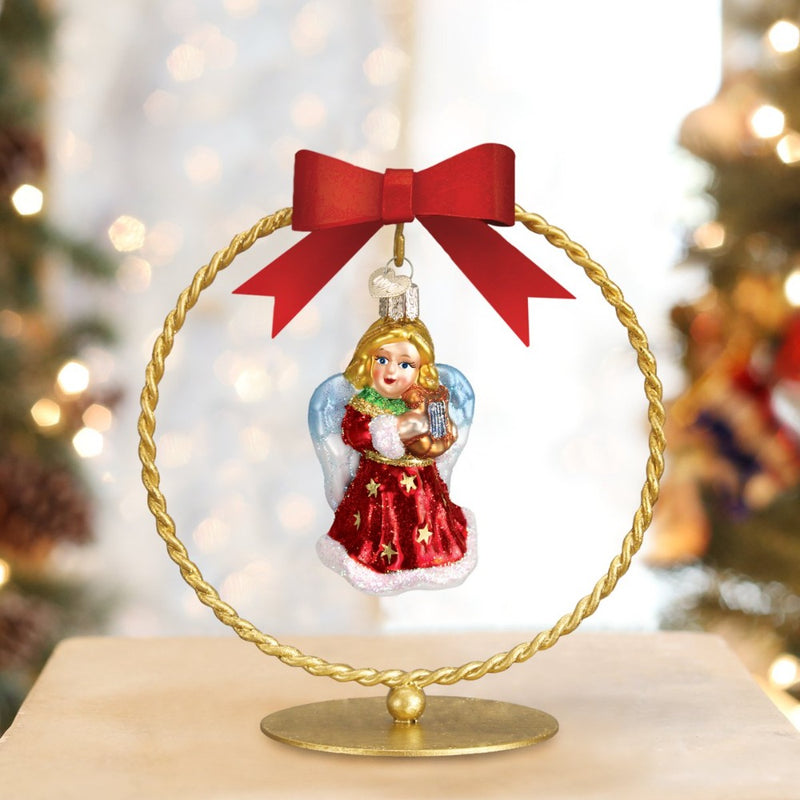 Single Braided Ornament Stand | Putti Christmas Canada
