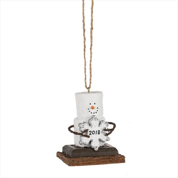 S'mores 2018 Dated Ornament
