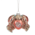 Jewelled Glass Crab Ornament |  Putti Christmas Celebrations Canada