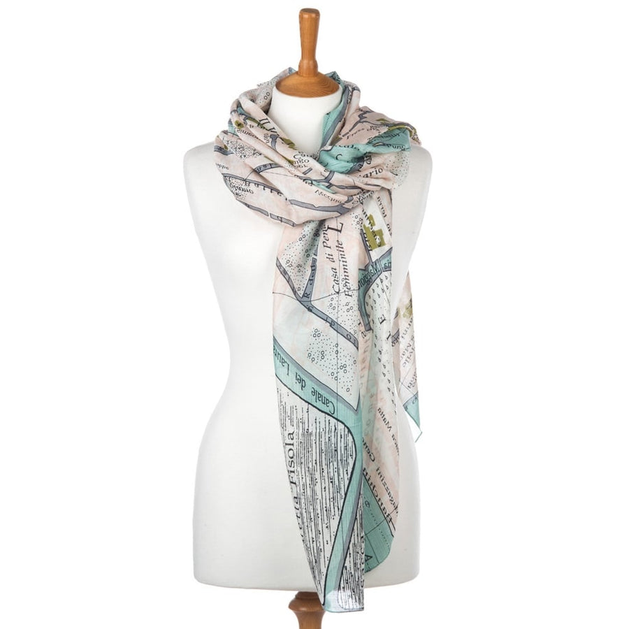 One Hundred Stars - Venice Street Map Scarf
