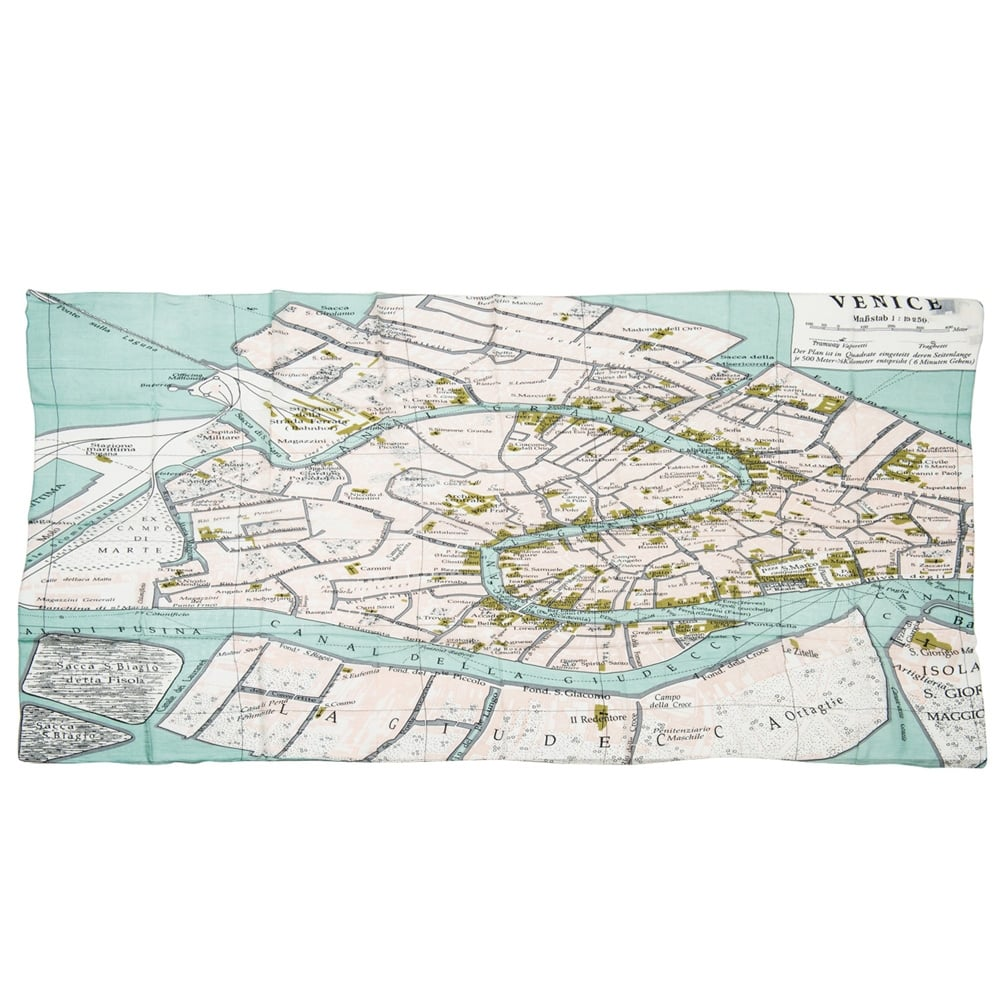 One Hundred Stars - Venice Street Map - Two's Company - Putti Canada