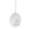 Paw Prints in Heaven Porcelain Ornament