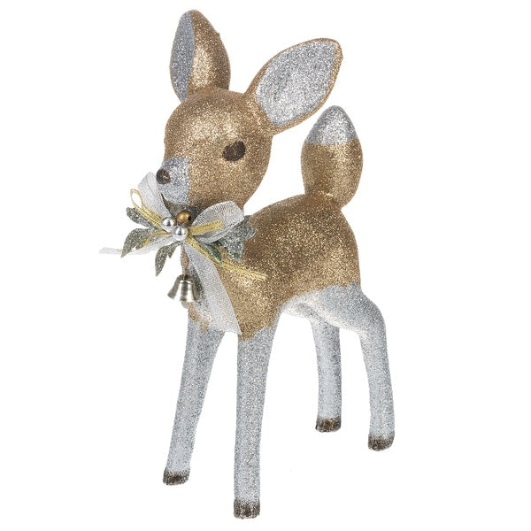 Standing Bambi Deer Decoration | Putti Christmas Decorations