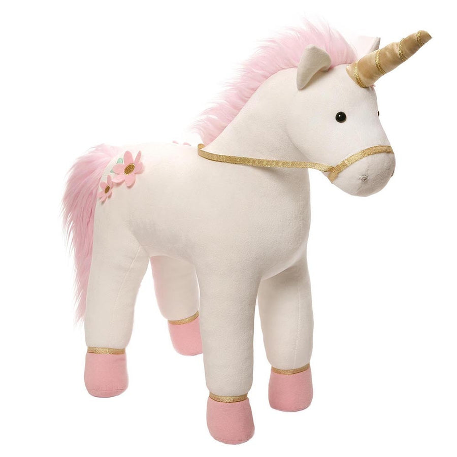 "Gund ""Lilly Rose"" Pink Jumbo Unicorn, EC-Enesco Canada, Putti Fine Furnishings"
