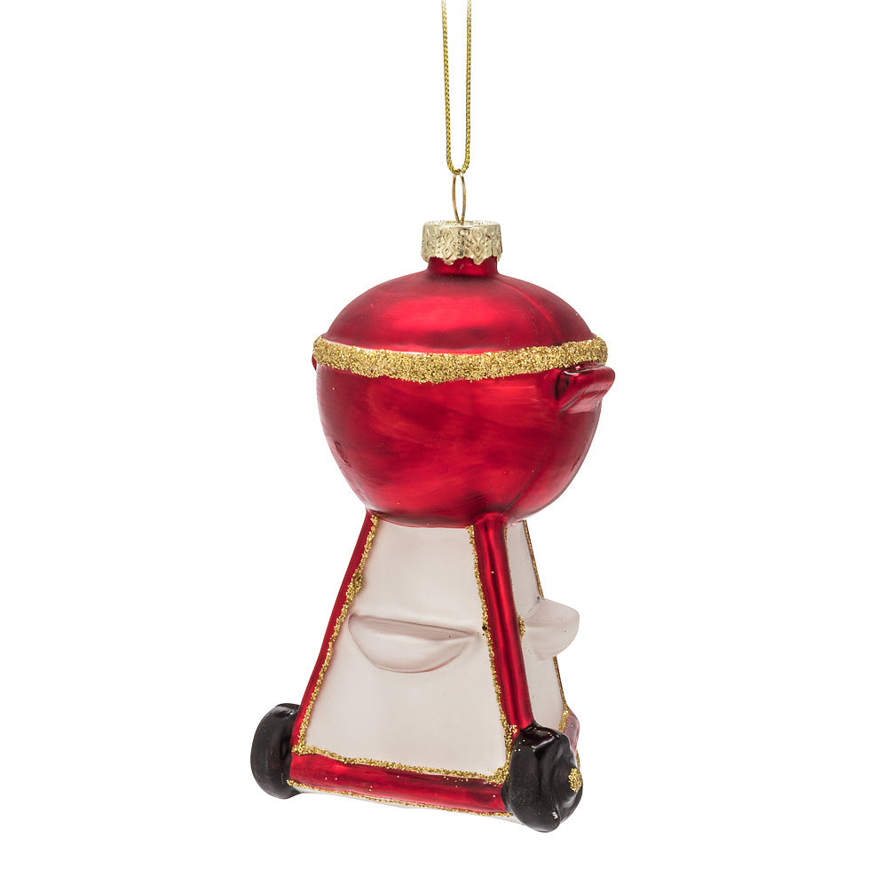 BBQ Grill Glass Ornament | Putti Christmas Celebrations Canada