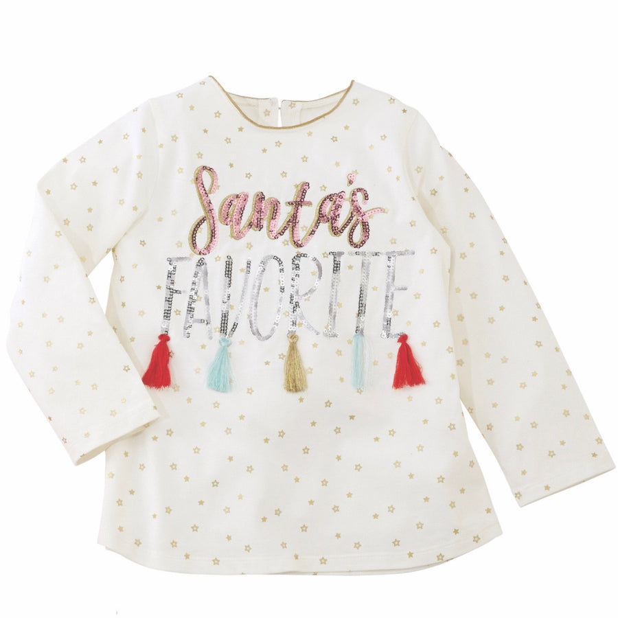 Mud Pie Santa's Favourite Tassel Tunic