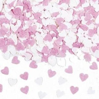 Pink & White Paper Confetti -  Party Supplies - TF-Tiger Feet - Putti Fine Furnishings Toronto Canada