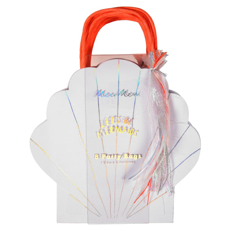 "Meri Meri ""Let's be Mermaids"" Shell Party Bags -  Party Supplies - MM-Meri Meri UK - Putti Fine Furnishings Toronto Canada - 1"