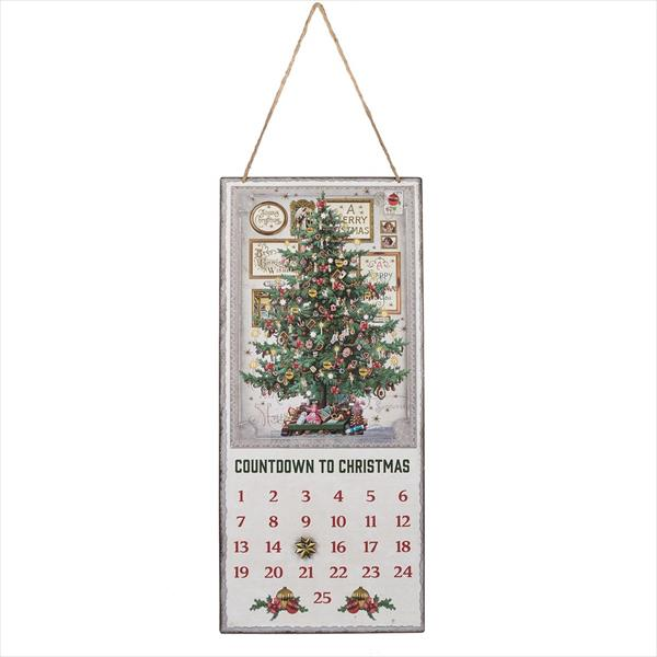 """Countdown to Christmas"" Tree Advent Calendar"