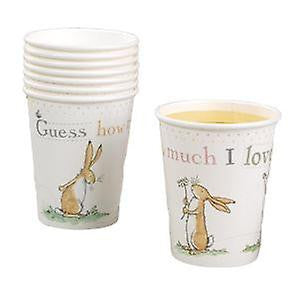 """Guess How Much I Love You"" Paper Cups -  Party Supplies - TF-Tiger Feet - Putti Fine Furnishings Toronto Canada - 1"