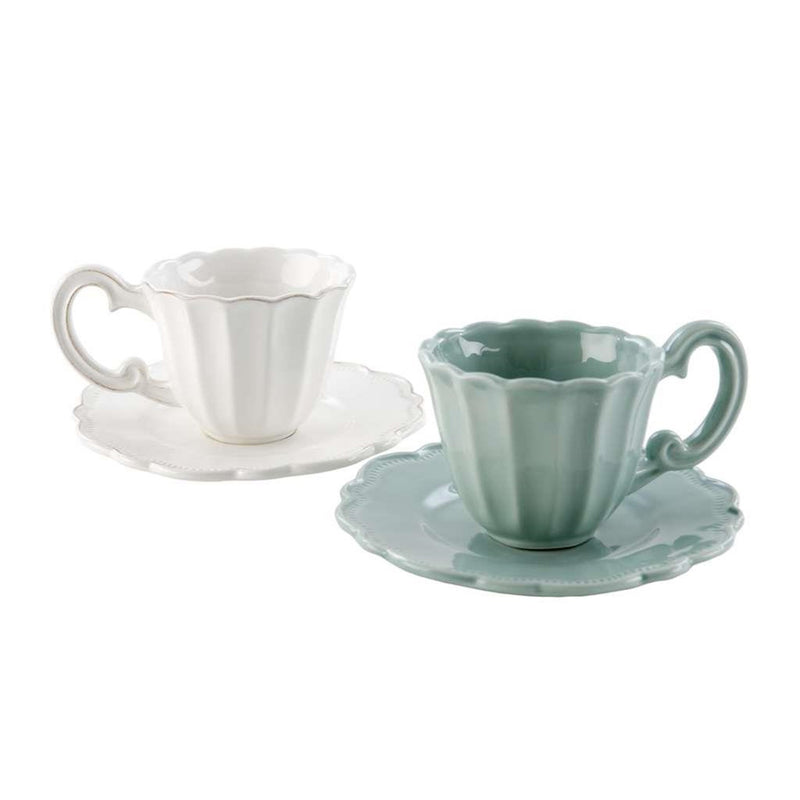 Napoli Cup and Saucer White, IT-Indaba Trading, Putti Fine Furnishings