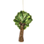 Palm Tree Glass Ornament | Putti Christmas Celebrations Canada