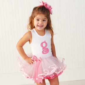 Monogram Tutu, MP-Mud Pie, Putti Fine Furnishings