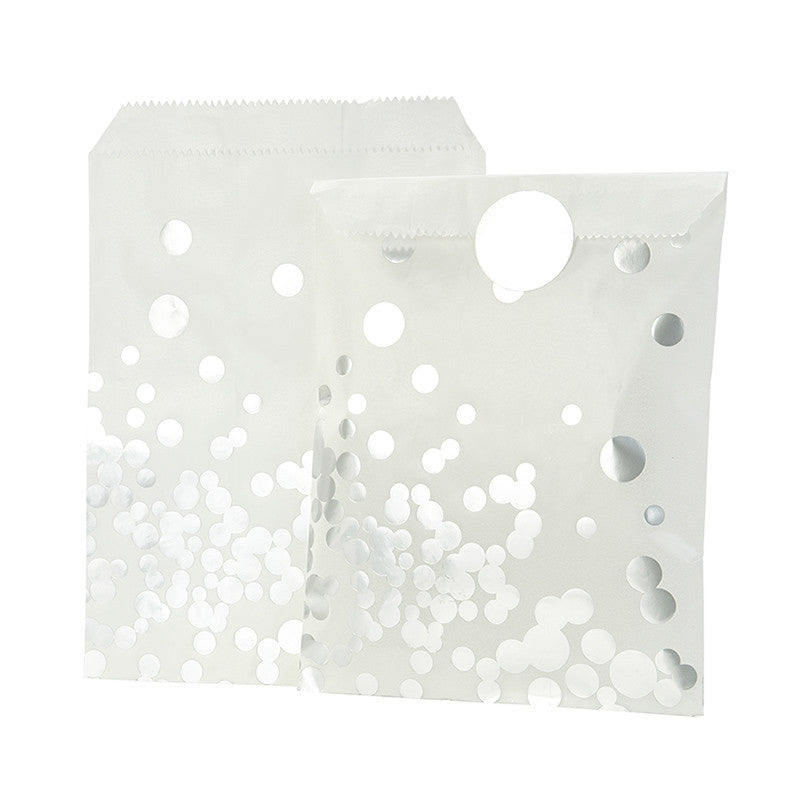 Silver Spot Treat Bags, TT-Talking Tables, Putti Fine Furnishings