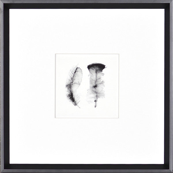 """Feathers"" Framed Art Print"