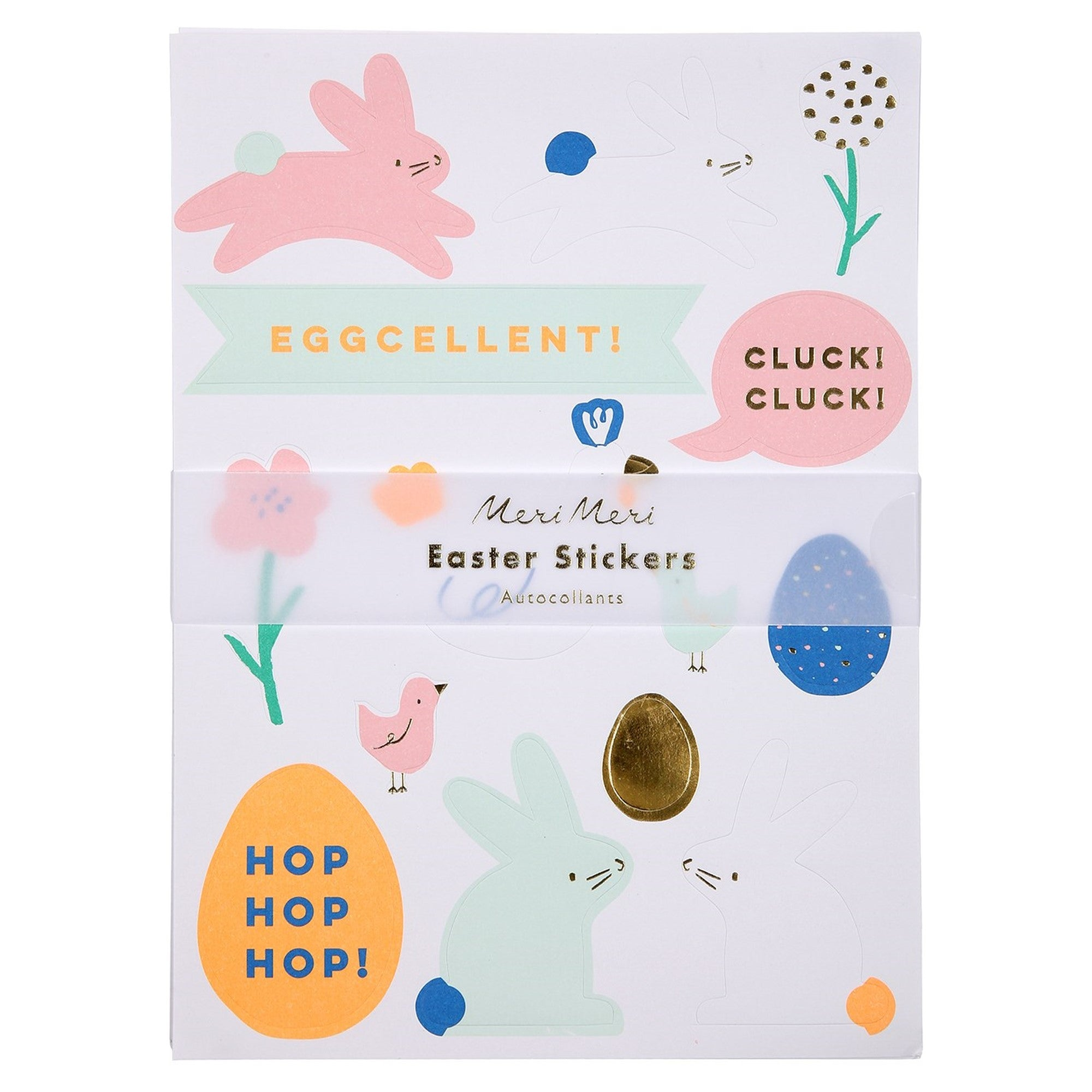 Meri Meri Easter Sticker Sheet | Le Petite Putti Celebrations