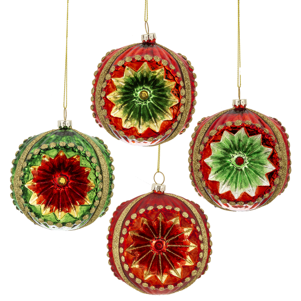 Witches Eye Glass Ornament | Putti Christmas Decorations