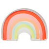 "Meri Meri Die Cut ""Rainbow"" Paper Plates - Large, MM-Meri Meri UK, Putti Fine Furnishings"