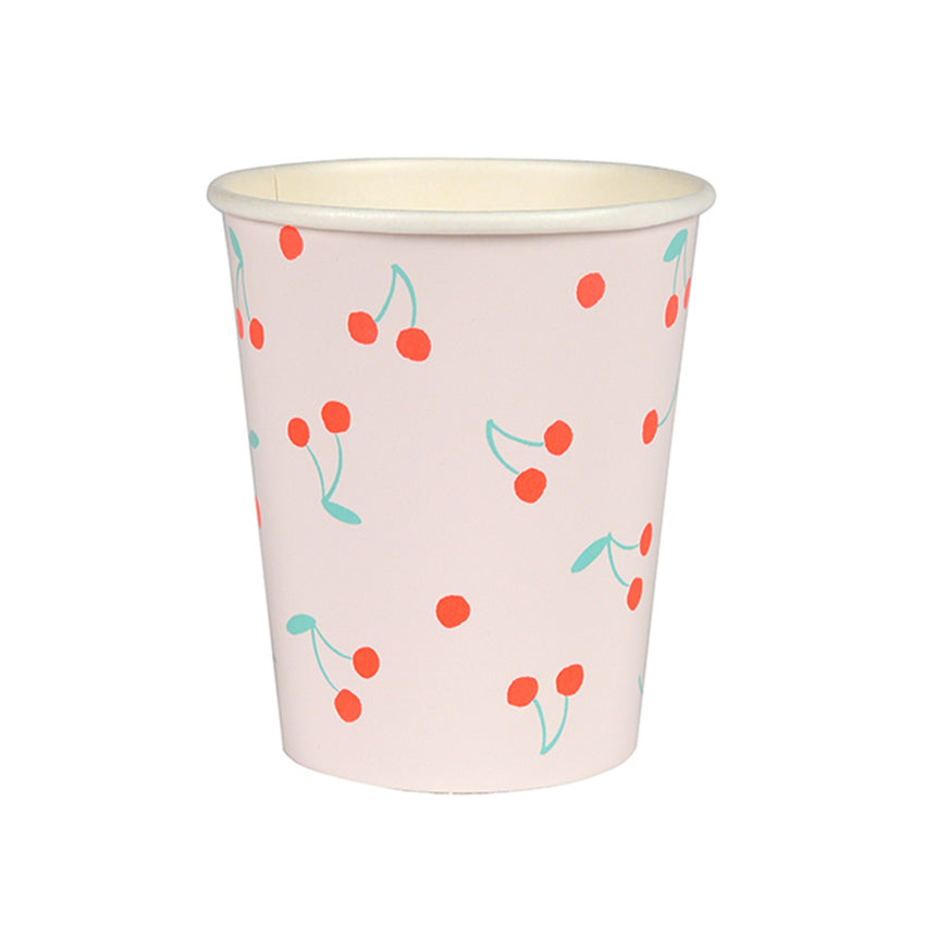 Meri Meri Cherries Paper Cups, MM-Meri Meri UK, Putti Fine Furnishings