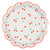 Meri Meri Cherries Paper Plates - Large, MM-Meri Meri UK, Putti Fine Furnishings