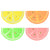 "Meri Meri ""Neon Citrus"" Paper Napkins - Small, MM-Meri Meri UK, Putti Fine Furnishings"