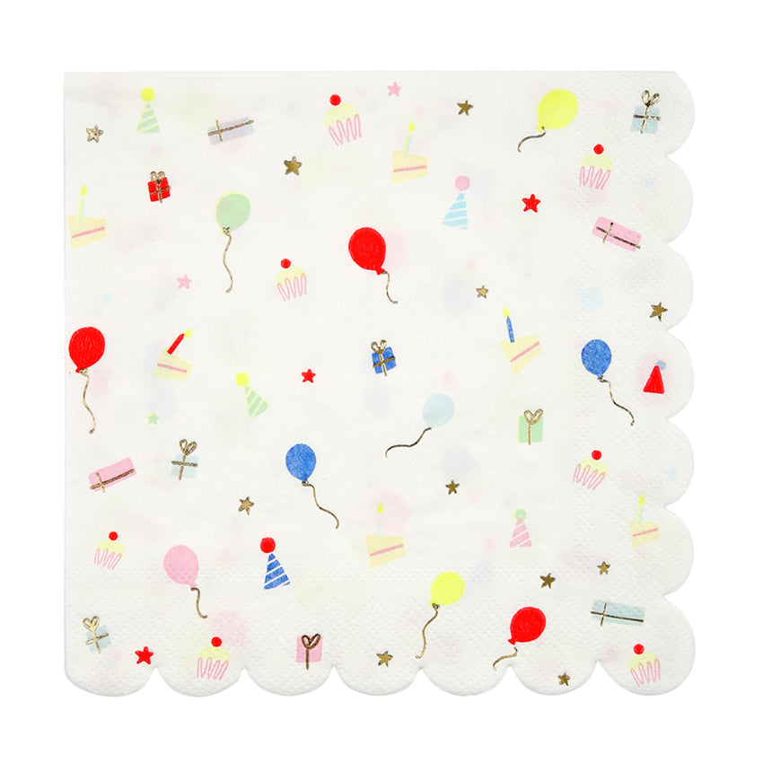 "Meri Meri ""Party Icon"" Paper Napkins - Large, MM-Meri Meri UK, Putti Fine Furnishings"