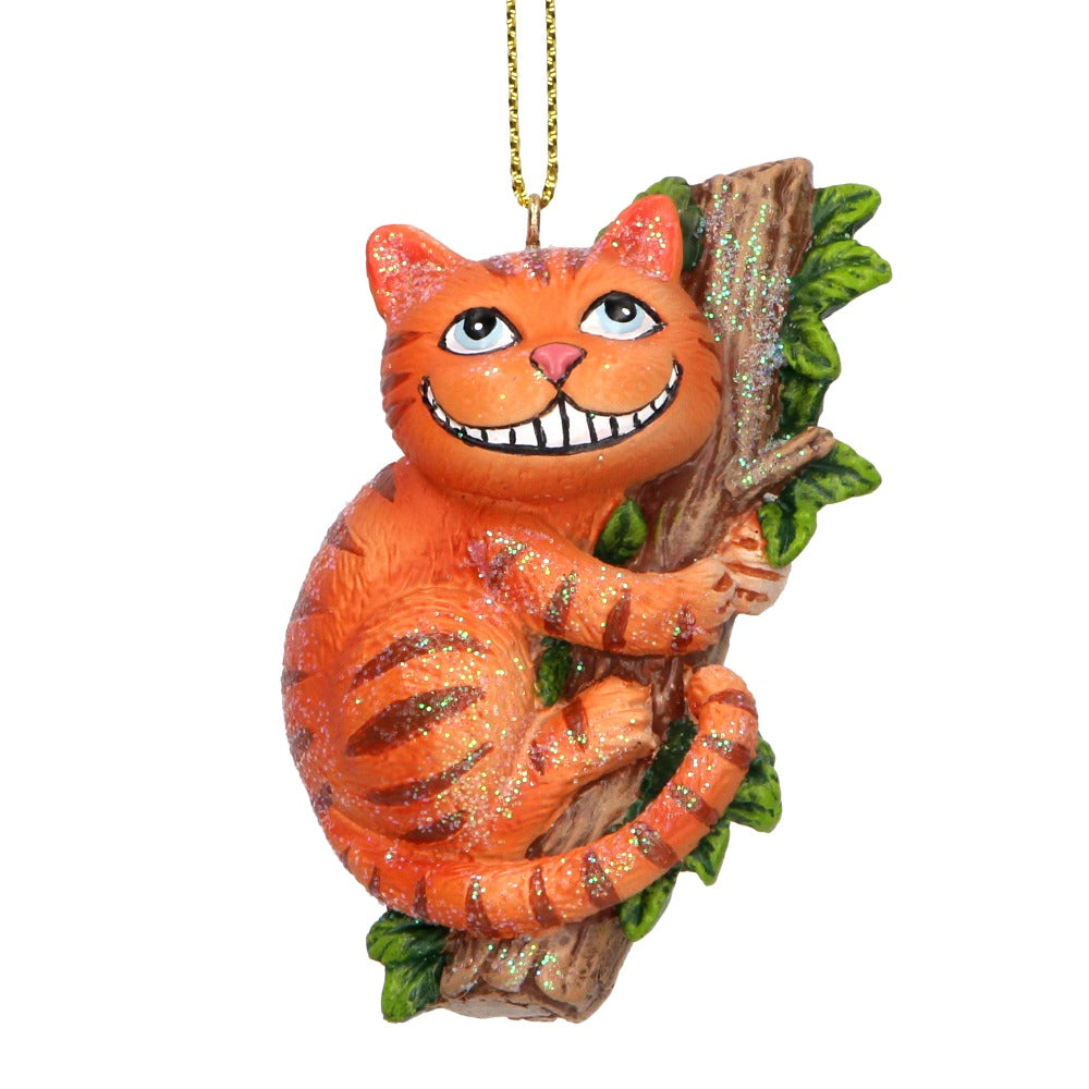Cheshire Cat Hanging Ornament  | Putti Christmas Canada