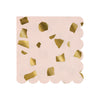 Meri Meri Pink Terrazzo Paper Napkins - Small, MM-Meri Meri UK, Putti Fine Furnishings