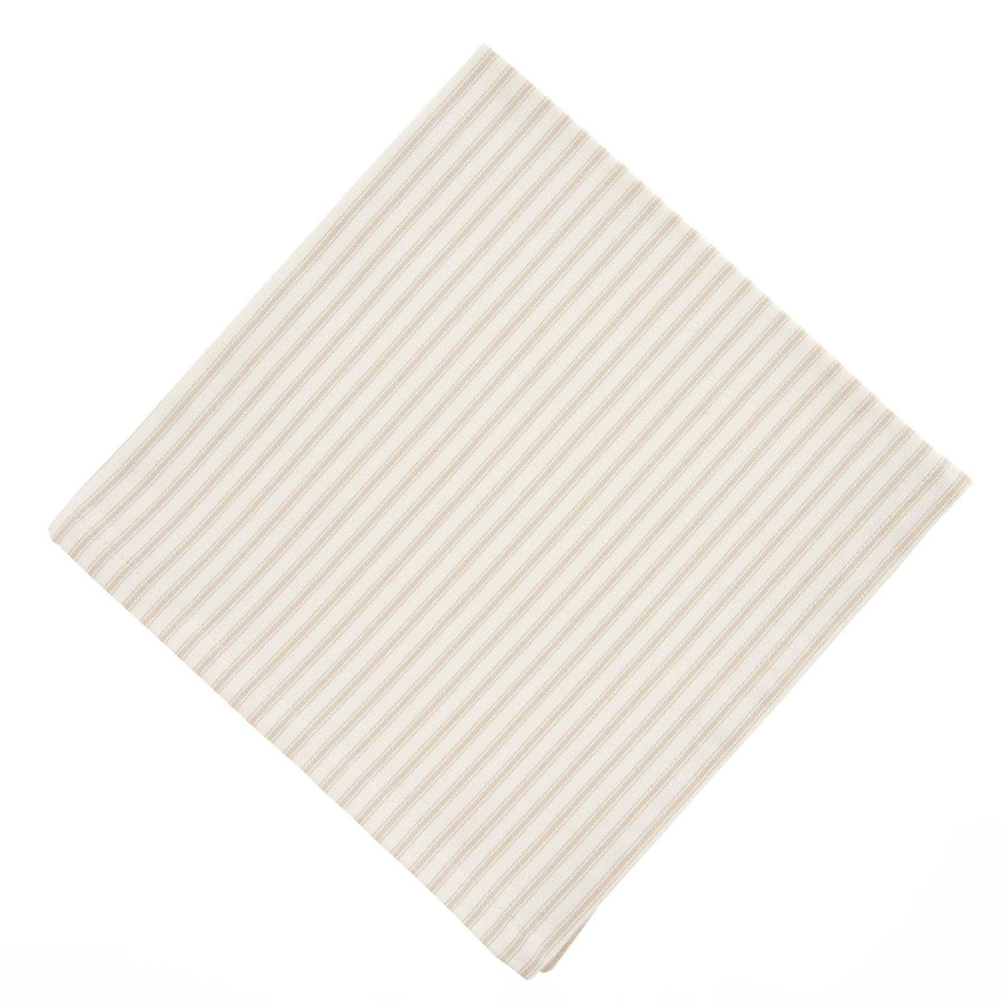French Ticking Napkin - Beige