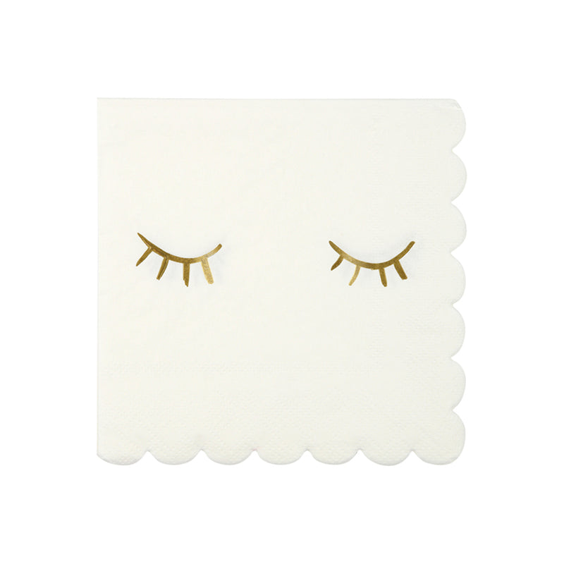 Meri Meri Gold Foil Blink Napkins - Small, MM-Meri Meri UK, Putti Fine Furnishings