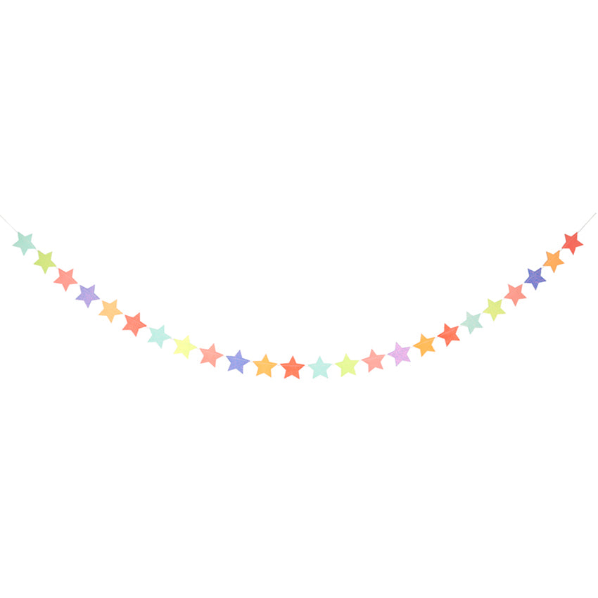 Meri Meri Multi Coloured Star Garland
