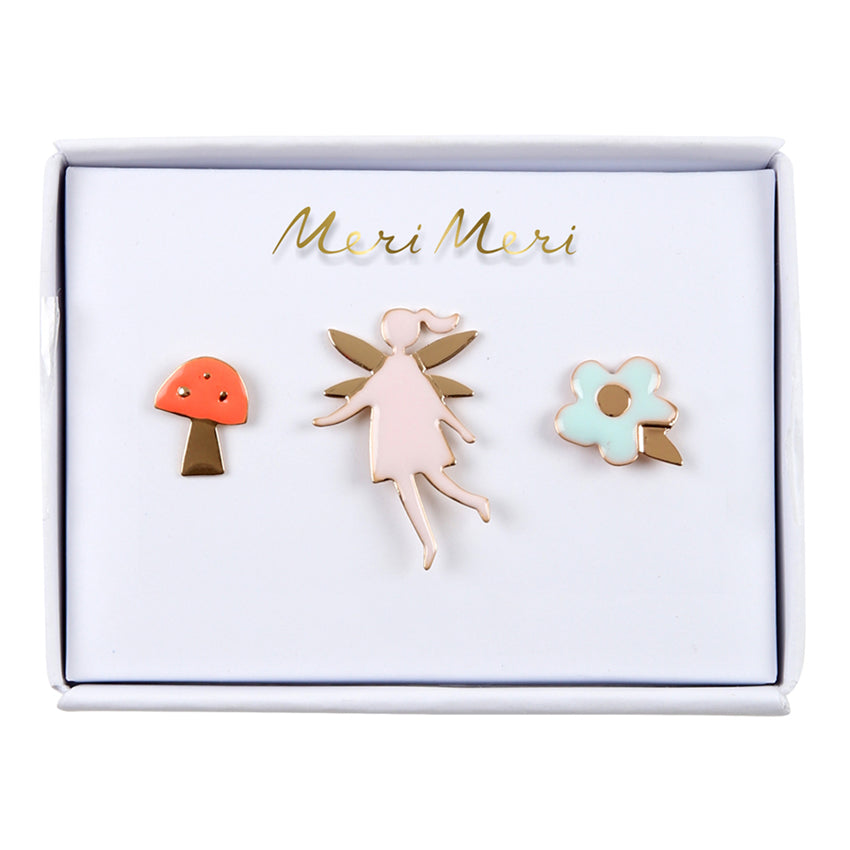 Meri Meri Fairy Enamel Pins, MM-Meri Meri UK, Putti Fine Furnishings