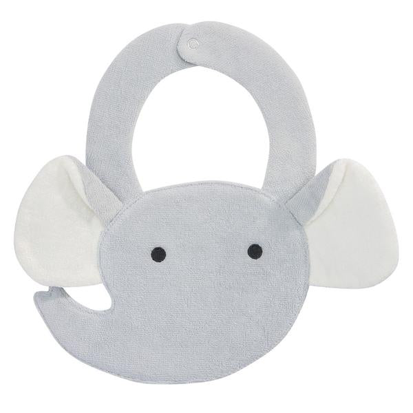 Elegant Baby Buddy Bib - Elephant-Children's Clothing-EB-Elegant Baby-Putti Fine Furnishings