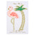 Meri Meri Flamingo And Palm Tree Embroidered Patches