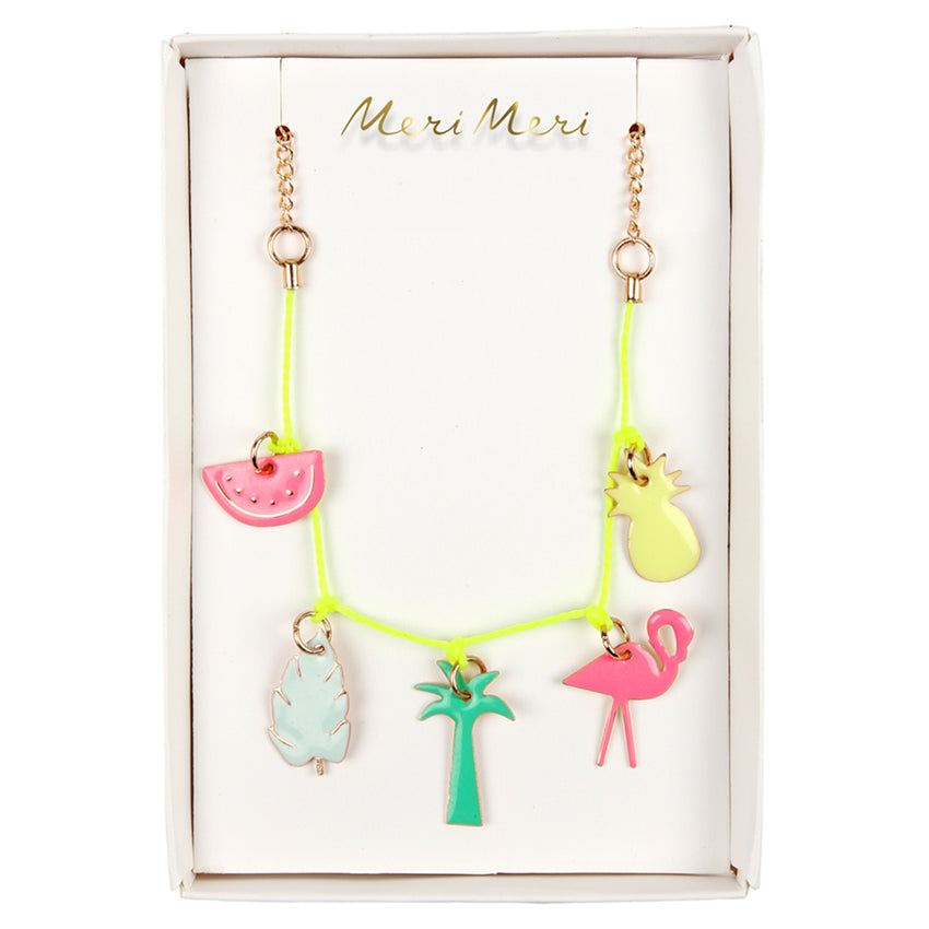 Meri Meri Tropical Charm Necklace