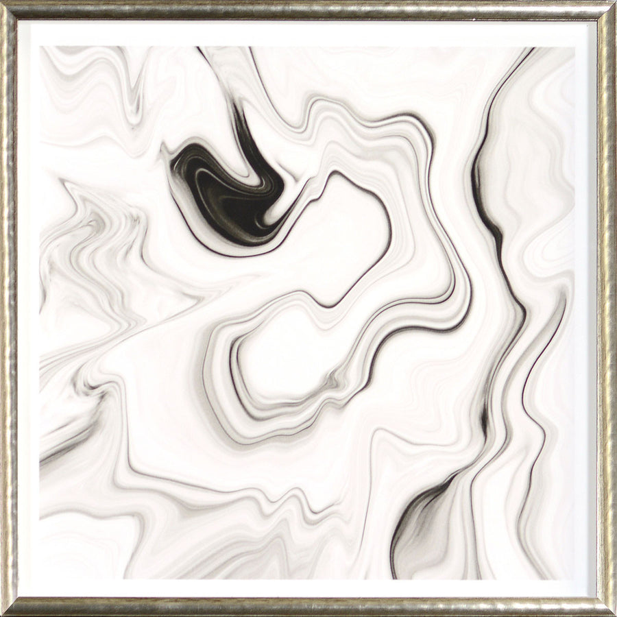 """Marbled Motion I"" Framed Print"