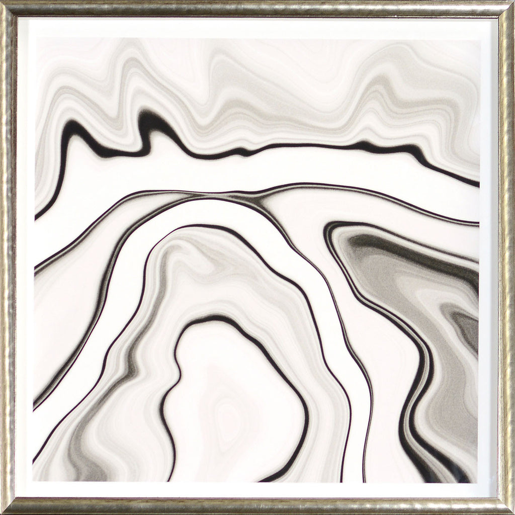 """Marbled Motion II"" Framed Print-Artwork-Cel Arts Studio-Putti Fine Furnishings"