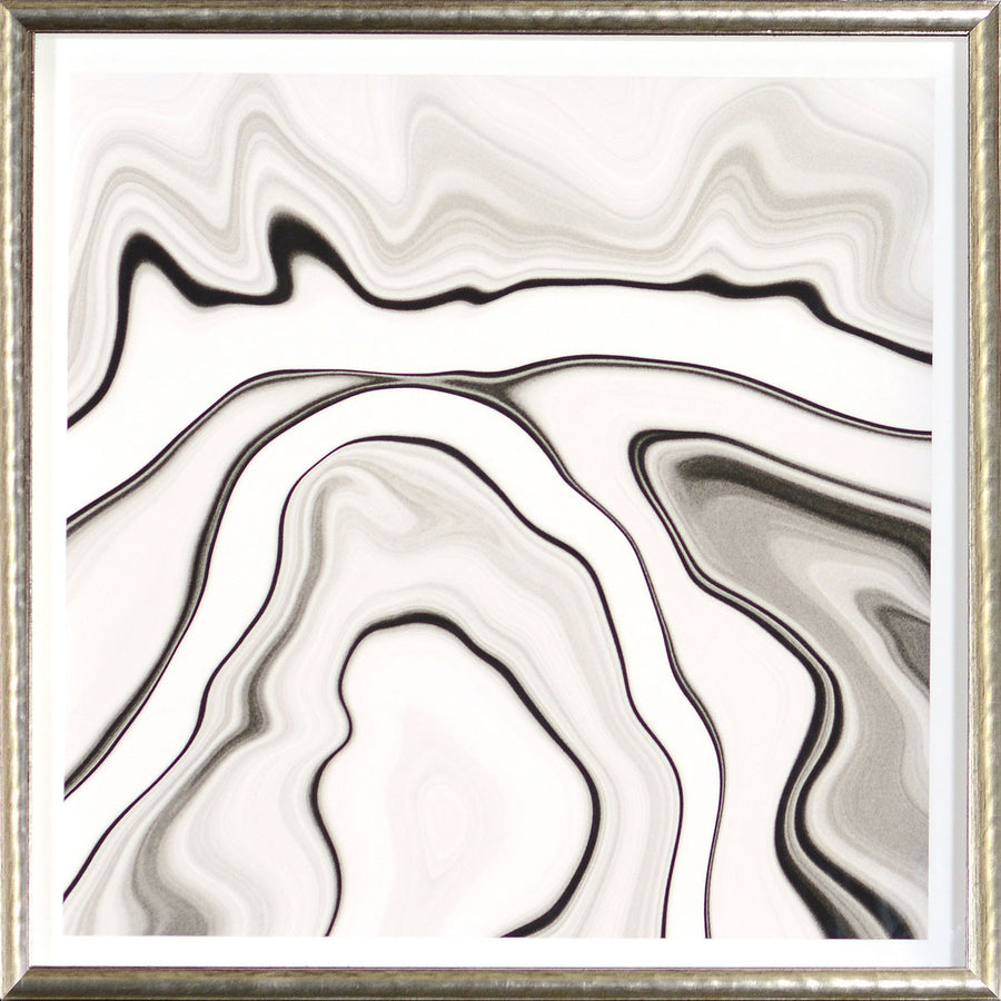 """Marbled Motion II"" Framed Print"