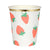 Meri Meri Strawberry Paper Cups, MM-Meri Meri UK, Putti Fine Furnishings