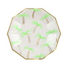Meri Meri Palm Trees Paper Plates - Small, MM-Meri Meri UK, Putti Fine Furnishings
