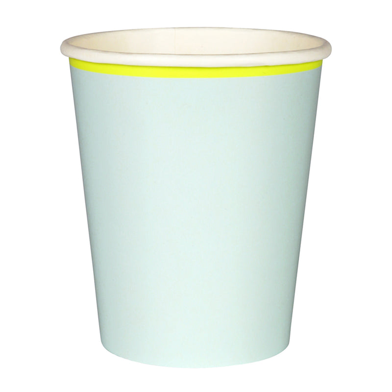 Meri Meri Mint Pastel Paper Cups, MM-Meri Meri UK, Putti Fine Furnishings
