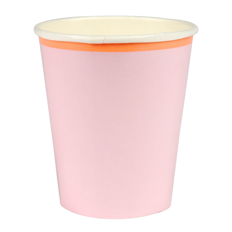 Meri Meri Pink Pastel Paper Cups, MM-Meri Meri UK, Putti Fine Furnishings