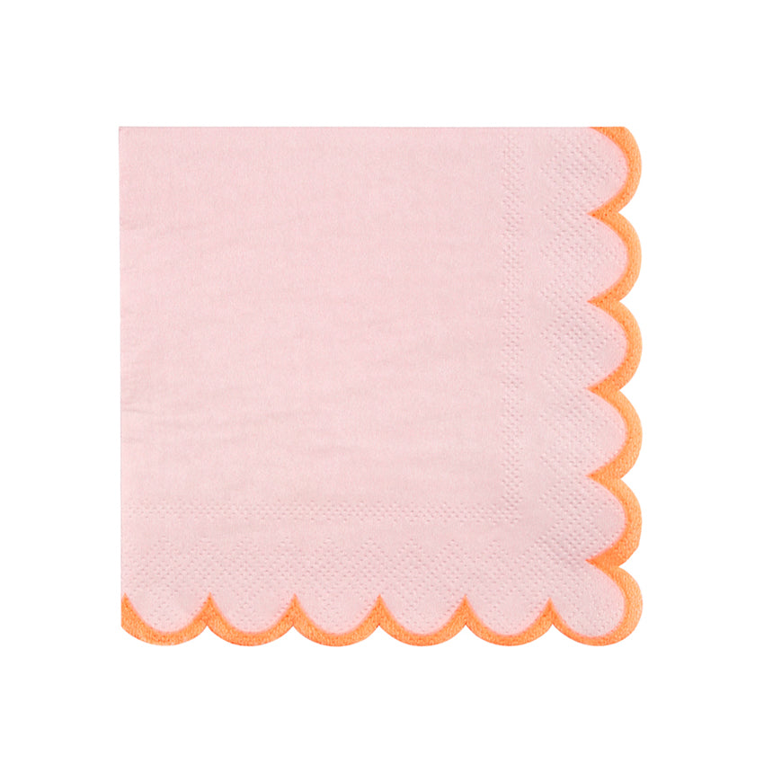 Meri Meri Pink Pastel Paper Napkins - Small, MM-Meri Meri UK, Putti Fine Furnishings